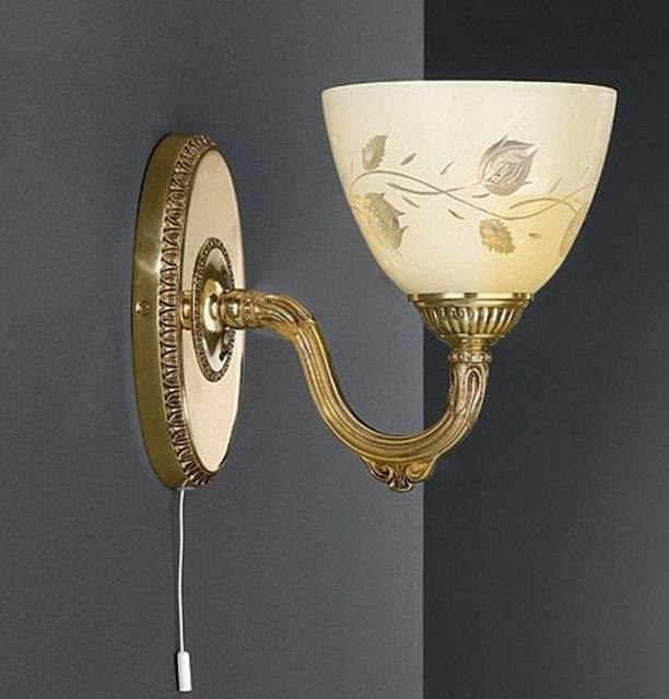 Настенные светильники бра в интерьере: разновидности, формы, дизайн