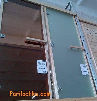 Двери в парилку стеклянные: размер двери из стекла в парную, как установить в парилку, установка