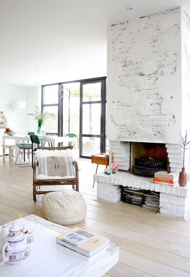 Интерьер гостиной с камином: фото, дизайн, виды, стилевые решения