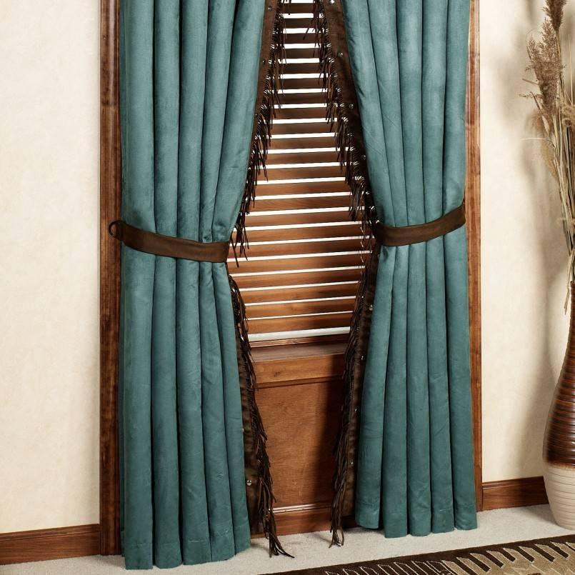 Бирюзовые шторы — обзор преимуществ в интерьере и лучшие сочетания в дизайне ( фото-идей)