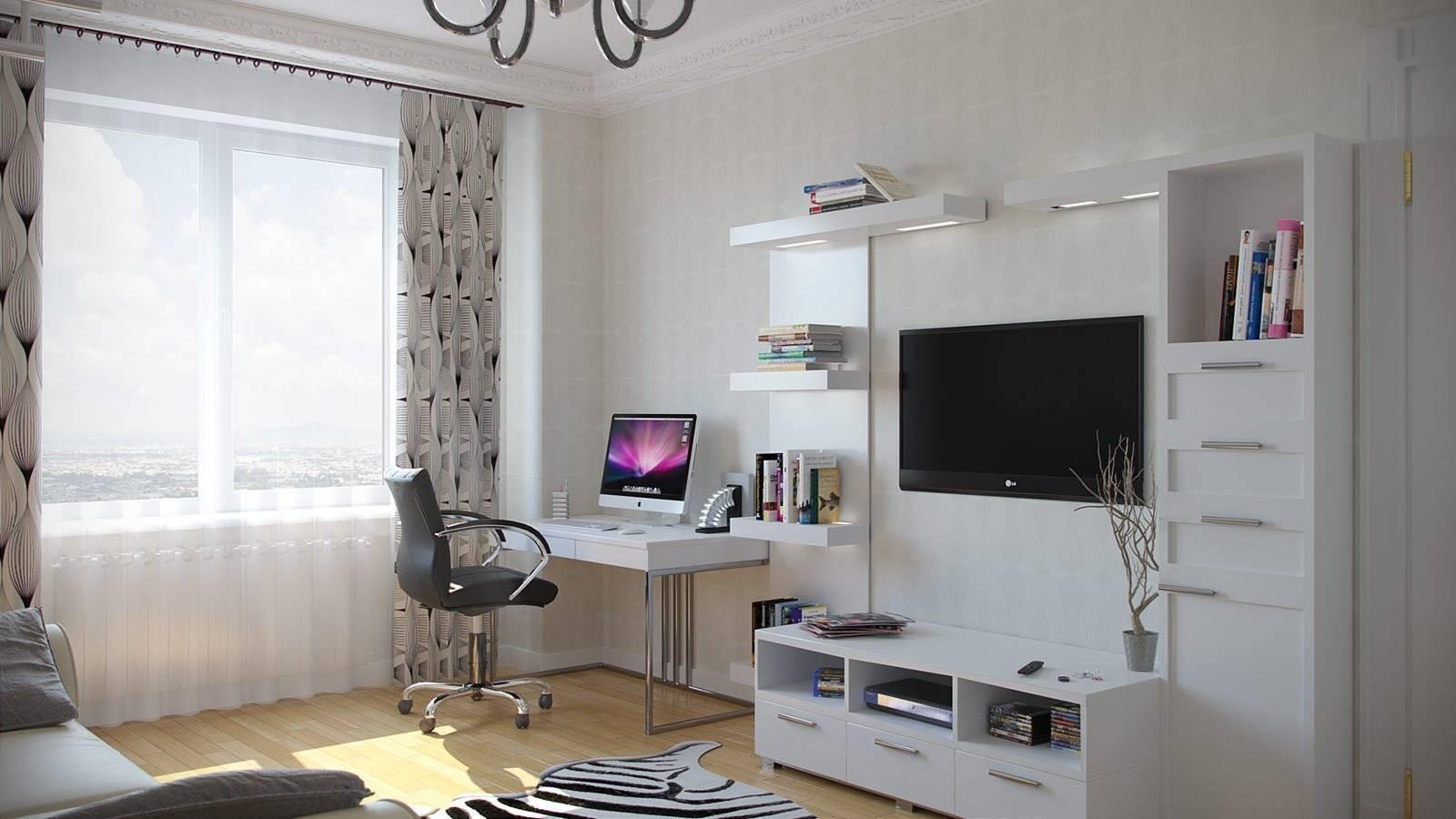 Мебельные стенки с компьютерным столом