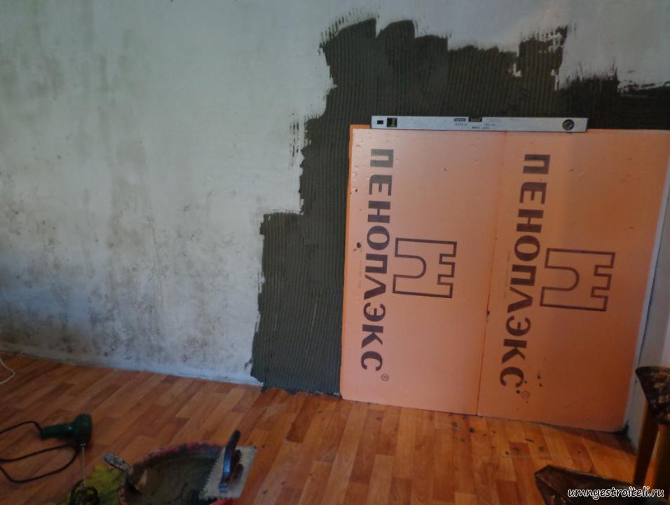 Можно ли утеплять стены изнутри пенополистиролом - клуб мастеров