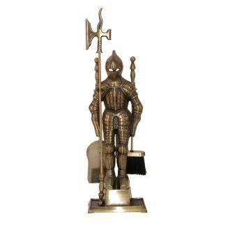 Набор для камина (66 фото): набор инструментов рыцарь для ухода за камином из ковки