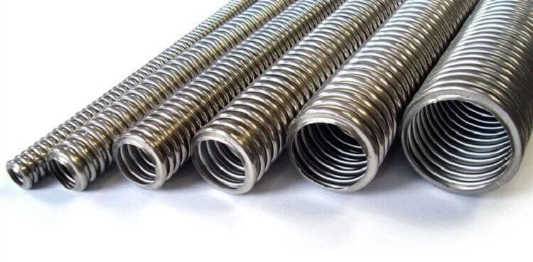 Применение металлической гофры для проводки кабеля