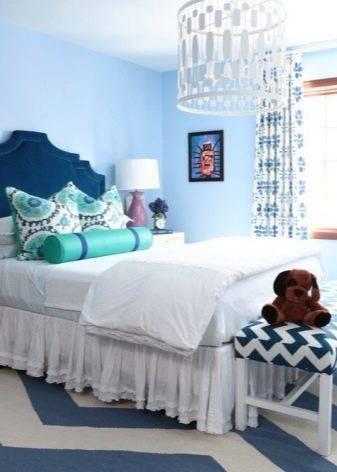 Подбираем шторы к голубым обоям (30 фото): какого цвета подобрать занавески и тюль