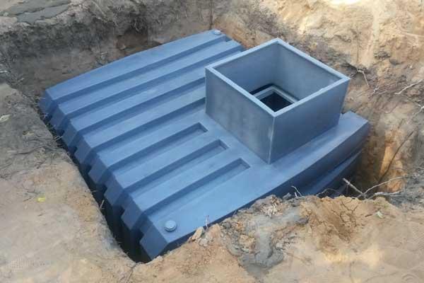 Металлический погреб - устройство, монтаж, эксплуатация