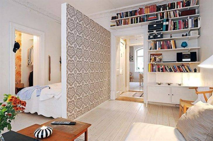 Лучшие идеи зонирования комнаты на спальню и гостиную