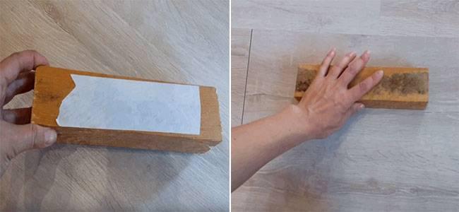 Мастика для ламината - описание, как и для чего используется