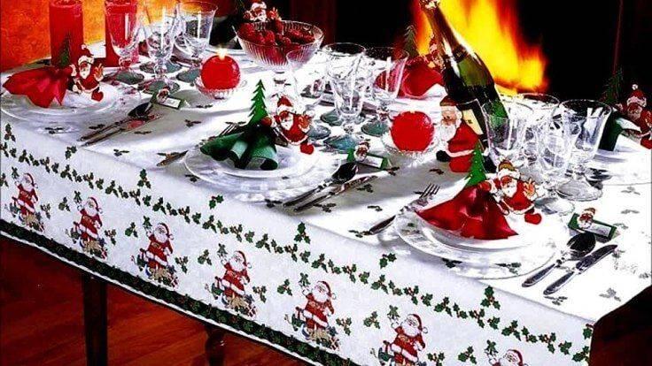Как сервировать стол на новый год: интересные идеи с фото