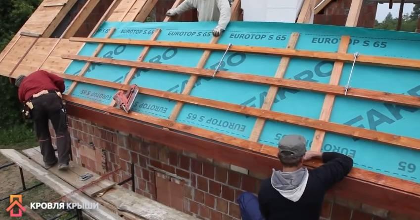 Гидроизоляция крыши дома под профнастил: важность выбора материалов