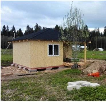 Строим дешевый каркасный дом своими руками