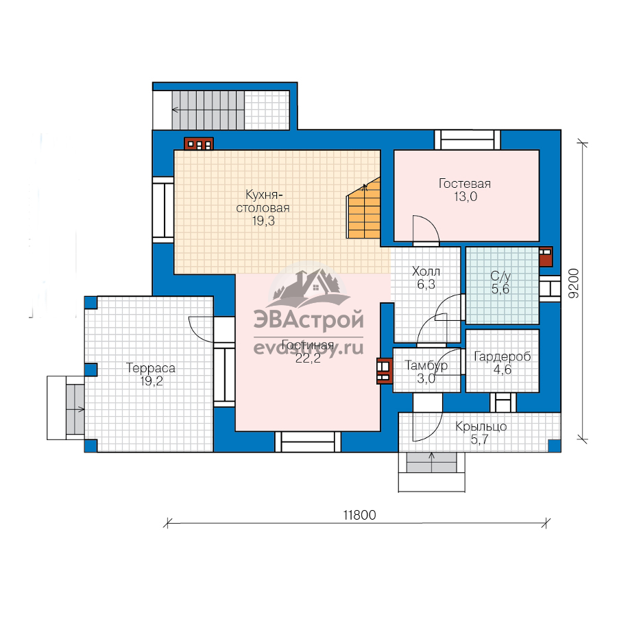 Планировка одноэтажного дома: фото дизайнов проектов
