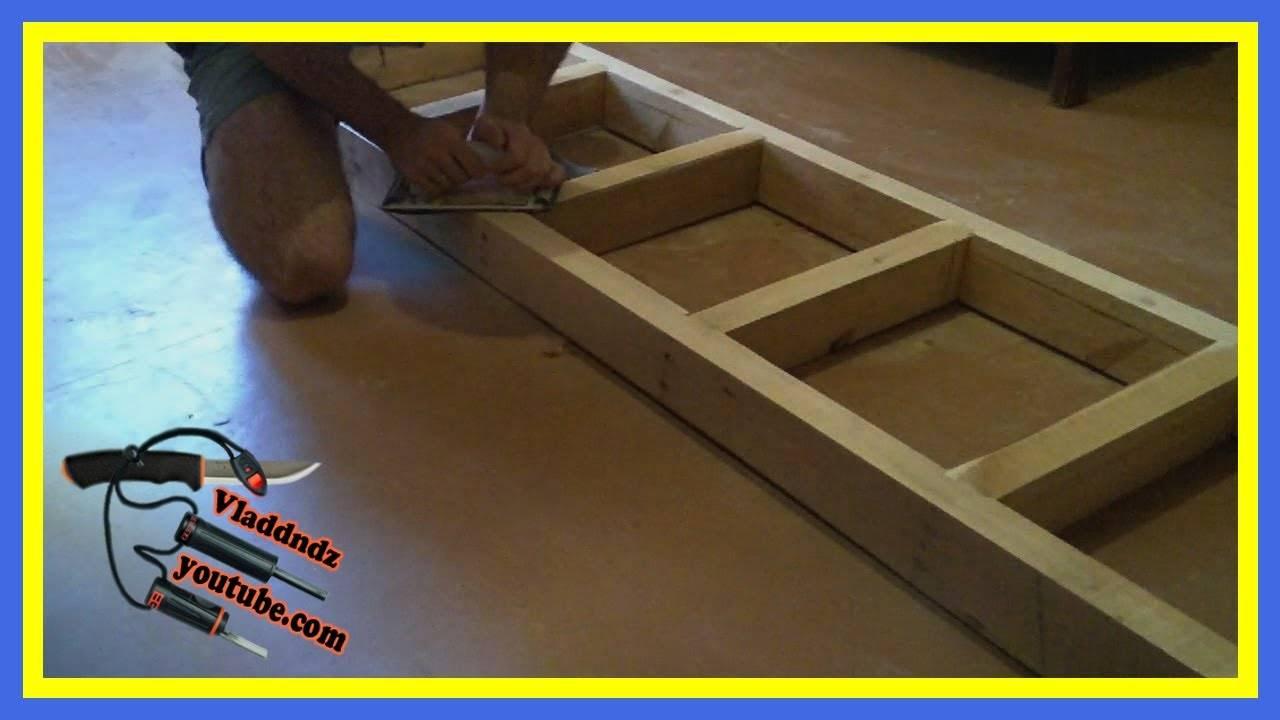 Приставная лестница из дерева своими руками: виды, чертежи с размерами, видео-инструкция