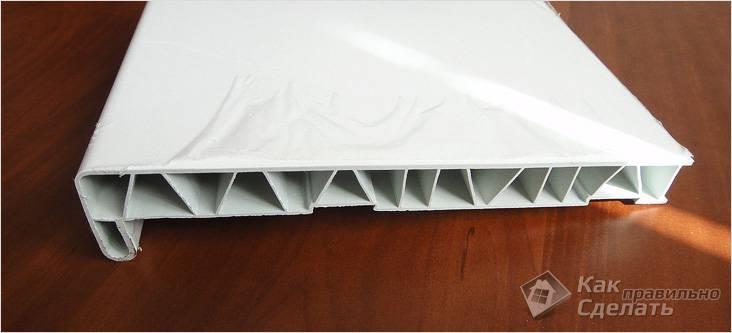 Установка пластикового подоконника своими руками – инструкция с фото