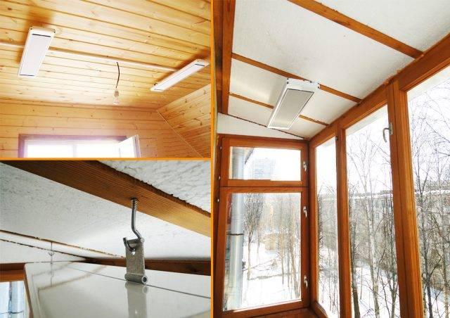 Отопление дома инфракрасными обогревателями: эффективность и расходы зимой