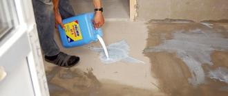 Чем обработать пол из бетона, чтобы не пылил
