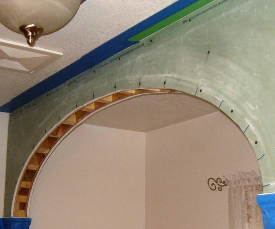 Красивая арка из гипсокартона: 5 типовых форм