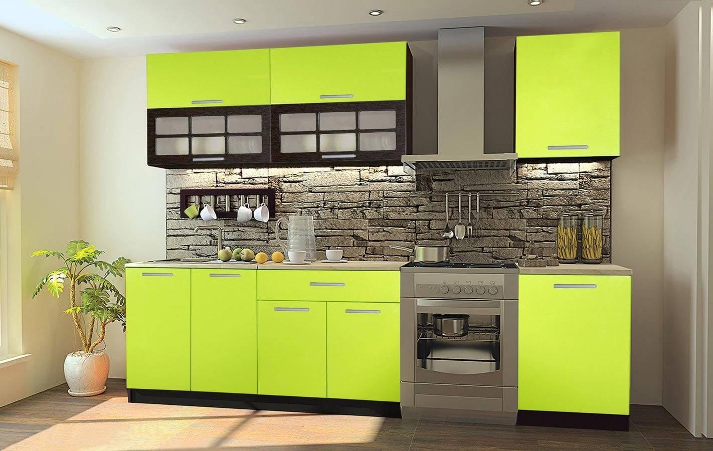 Кухни лайм (52 фото): кухонный гарнитур лаймового цвета с венге, белым и другими оттенками в интерьере кухни. с какими еще оттенками сочетается лайм?