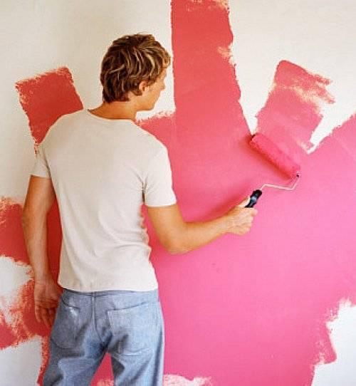 Как выбрать краску для обоев под покраску - mastack.ru