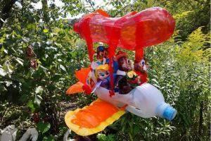 Ограждения для клумб (81 фото): декоративный забор из подручных материалов своими руками, пластиковые бордюры