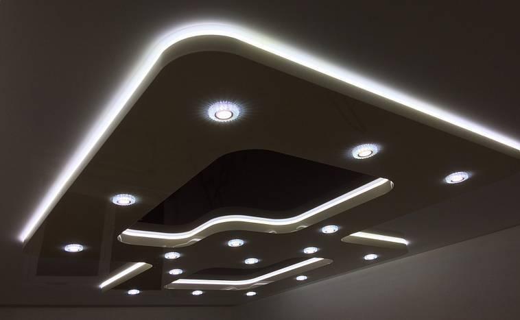 Подвесные потолки: 100 фото, советы по выбору, виды (алюминиевые, металлические и др.)