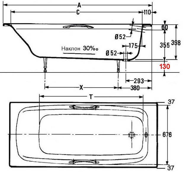Сидячая ванна (42 фото): преимущества и недостатки
