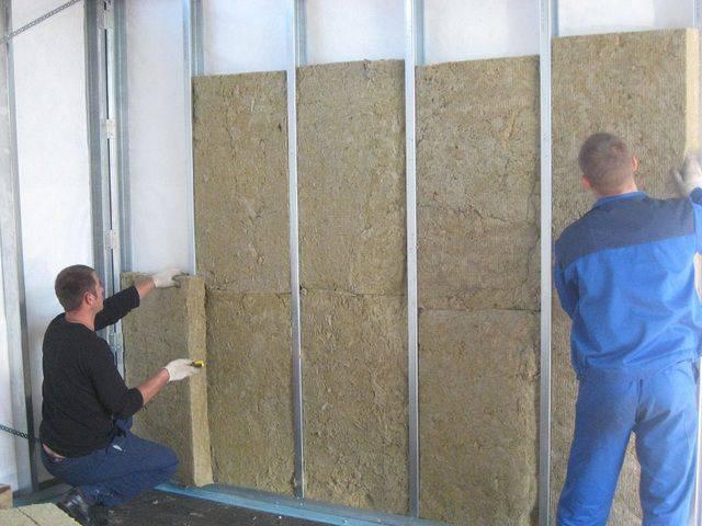 Утепление стен изнутри пеноплексом и гипсокартонном