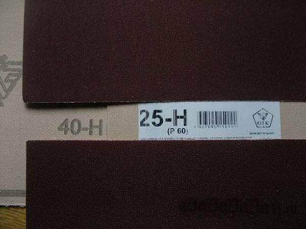 """Зернистость наждачной бумаги: её виды, таблица с маркировками — журнал """"рутвет"""""""
