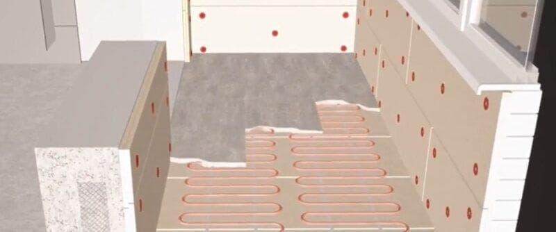 Утепление панорамного балкона и лоджии: пошаговая инструкция