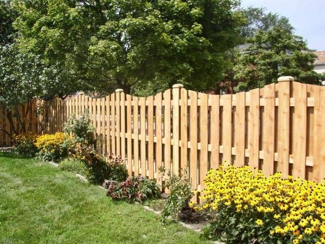 Деревянный забор, виды металлических столбов, установка металлических столбов для забора своими руками