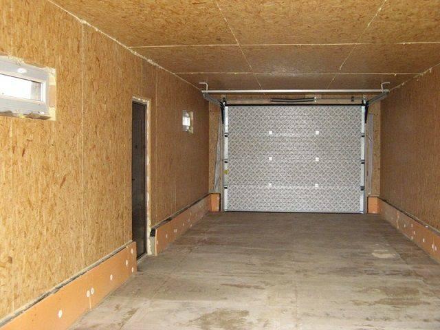 Отделка гаража (80 фото):  внутреннее оформление стен своими руками, дизайн - чем обшить и отделать внутри
