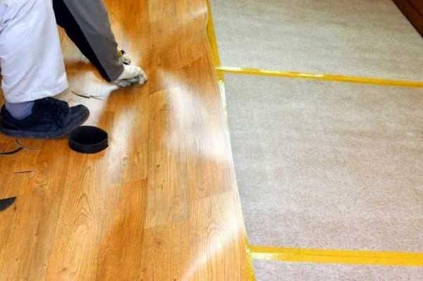 Как разгладить линолеум на полу - только ремонт своими руками в квартире: фото, видео, инструкции