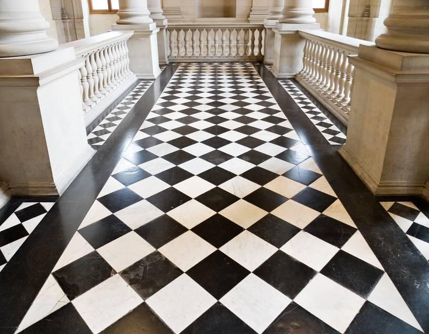 Укладка плитки по диагонали на пол: фото, видео инструкция укладка плитки по диагонали на пол: фото, видео инструкция