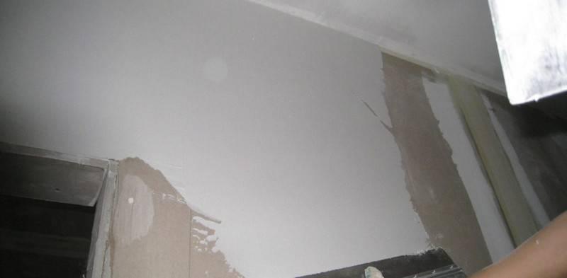 Сколько сохнет шпаклевка? время высыхания на стенах и потолке перед поклейкой обоев, как быстро высыхает 1 слой