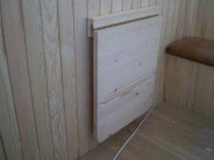 Откидной столик на балкон: как сделать своими руками раскладной и складной