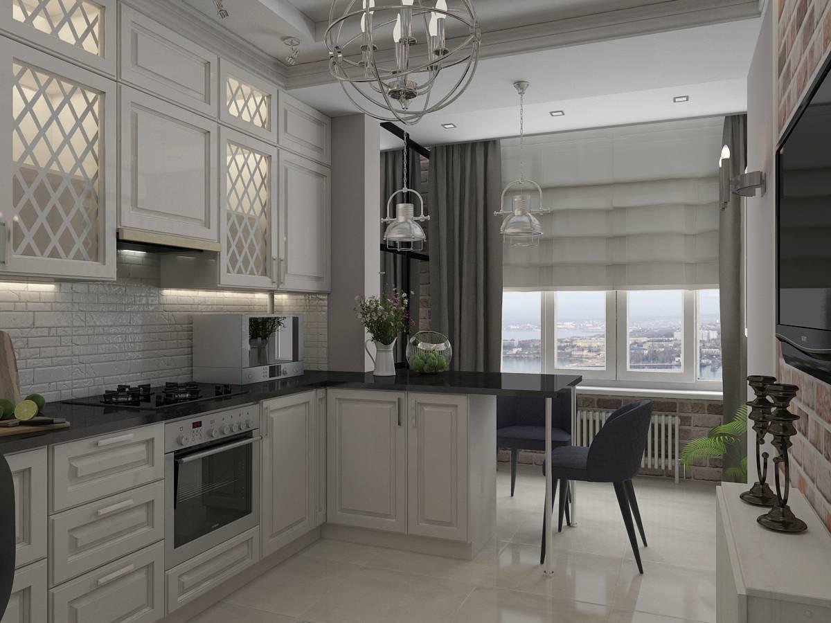 Кухня с балконом - 130 фото новинок с лучшими идеями обустройства!