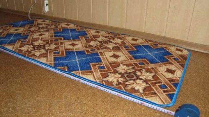 Мобильный теплый пол (33 фото): выбираем под ковер инфракрасный переносной и пленочный, где можно стелить электрические коврики
