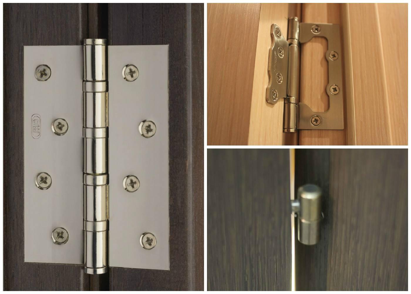Устанавливаем петли на дверь: технология врезки различных моделей