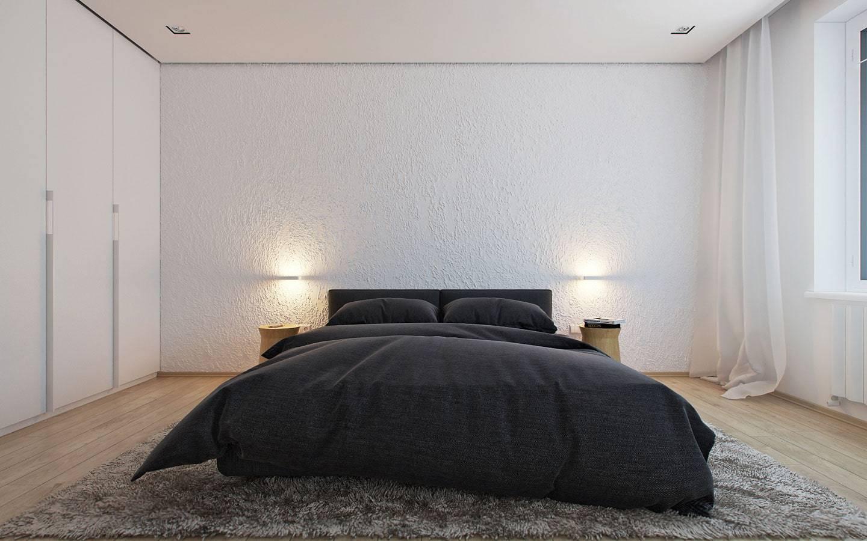 Спальня в стиле «минимализм»