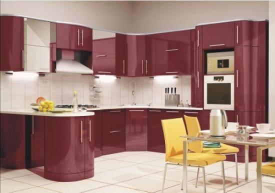 Как выбрать обои под цвет кухни: 10 правил сочетания с гарнитуром
