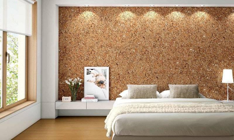 Обшивка Пробковыми панелям для стен: Виды - Плюсы и минусы