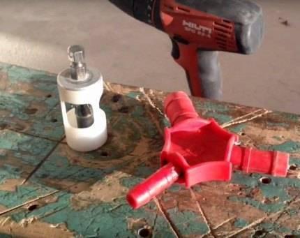 Как выполнить монтаж при использовании труб из полипропилена?
