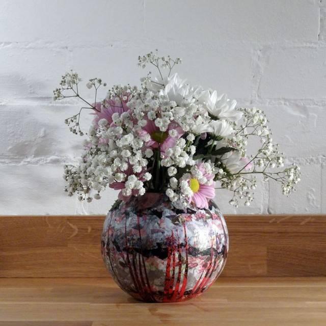 Декупаж вазы – мастер-класс для начинающих как сделать стильное украшение (инструкция + 90 фото)