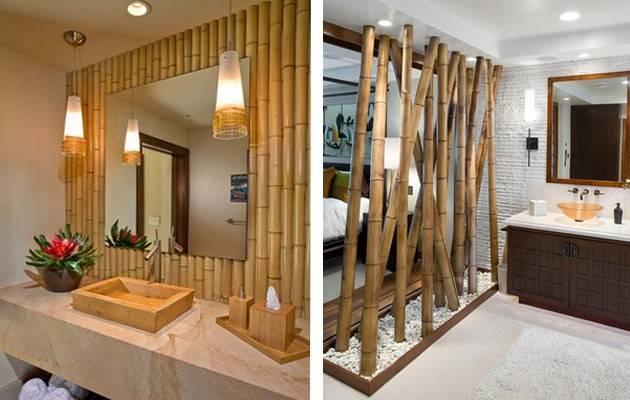 Бамбуковые обои в интерьере – особенности и идеи оформления