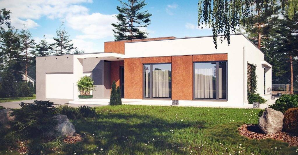 Плоская крыша - лучшие идеи применения, особенности ухода и ремонта плоской крыши (75 фото)