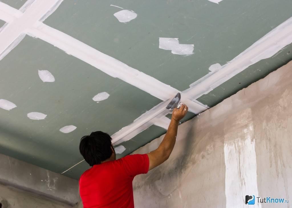 Как правильно шпаклевать потолок: полезные рекомендации