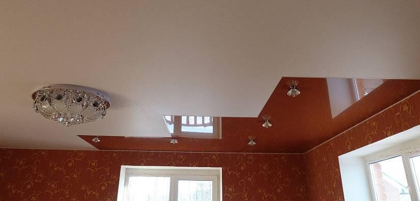 Максимальная длина натяжного потолка без шва
