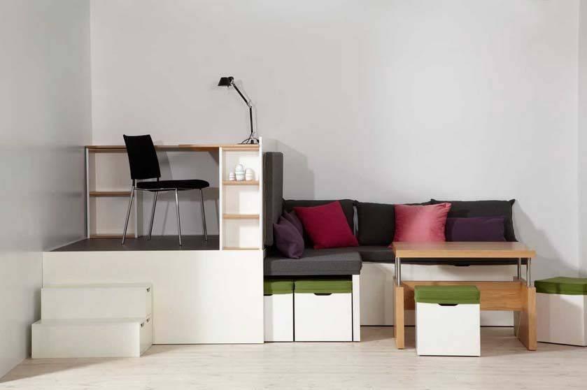 Мебель трансформер - 100 фото удобных и функциональных вариантоов