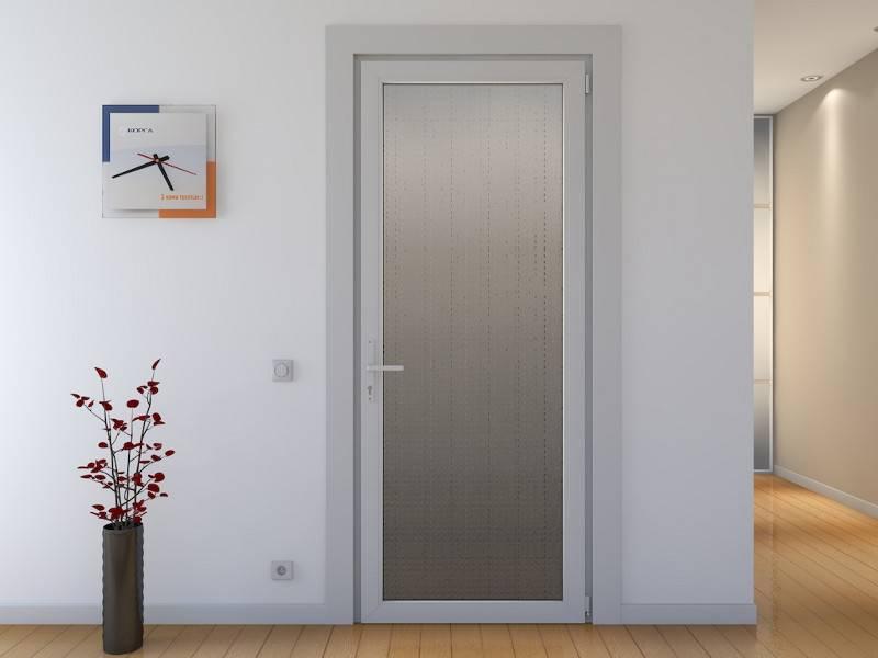 Покупка входной металлопластиковой двери: фото