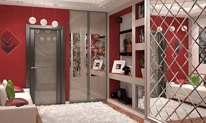 Шкаф с зеркалом в спальню - 200 фото лучших новинок дизайна шкафа в интерьере спальни